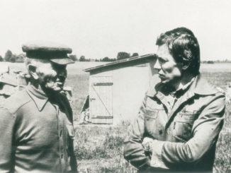Lucjan Kacprzak i Maciej Wojewoda – założyciel i pierwszy dyrektor Muzeum Ziemi Sochaczewskiej i Pola Bitwy nad Bzurą/ fot. ze zbiorów MZSiPBNB