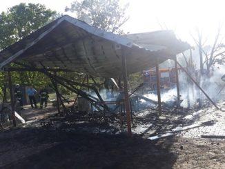 Góra - Susza sprzyja pożarom-2 pieczyska